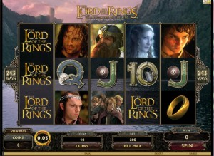 Play Lord of the Rings on Ladbrokes