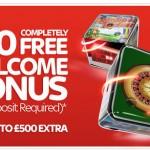 Get a £10 No Deposit Bonus at Sky Vegas