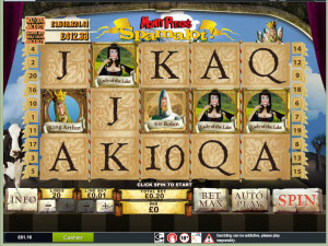 Betfair £5 No Deposit Slot Game - Spamalot