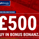 Boylesports New £500 Casino Bonus Welcome Package
