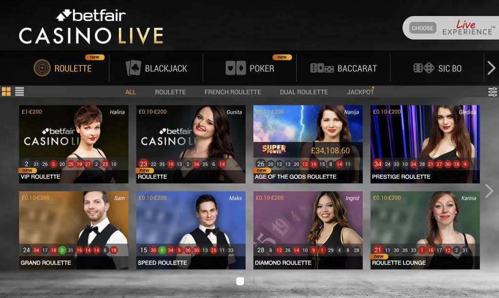 betfair casino no deposit bonus