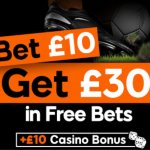 888Sport – £30 Free Bet + £10 Casino Bonus