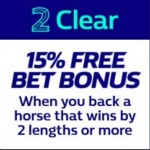 William Hill 2 Clear Racing Promotion